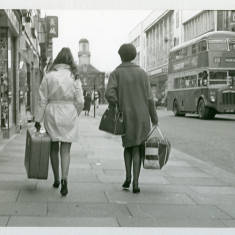 Bus Travelling In King Street