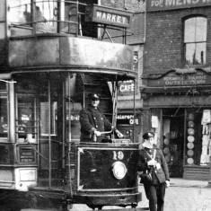 Tram on Slake Terrace