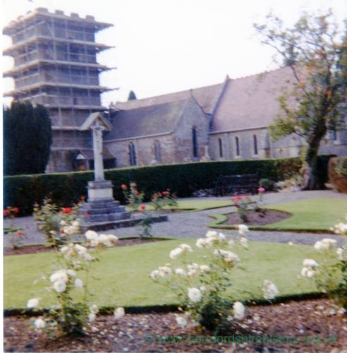 Colwall Church, exterior, 1982