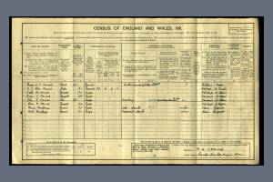 1911 Census for Countess Cross, Colne Engaine, White Colne, Essex