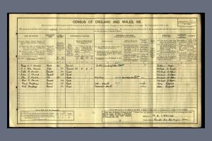 1911 Census for Countess Cross, Colne Engaine, White Colne, Essex