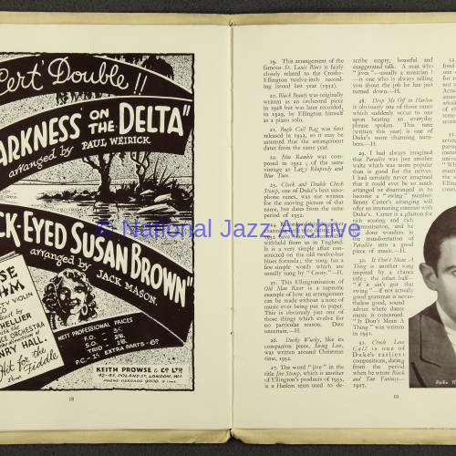 Duke Ellington Orchestra British Tour – July 1933 010