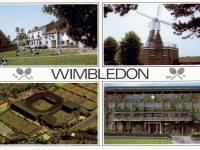 All England Lawn Tennis Club and other views of Wimbledon