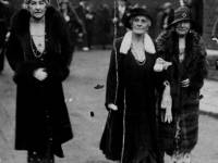 Mrs. Percy Bull with Lady Fell & Mrs Bevan