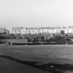 South Marine Park, South Shields showing Seafield Terrace