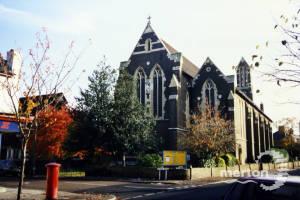 St Barnabas Church, Thirsk Road, Mitcham