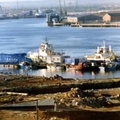 Site of former Tyne Dock Engineering Shipyard