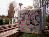 Tramlink, Morden Road tramstop