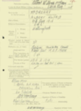 RMC Form 18A Personal Detail Sheets Aug 1935 Intake - page 133