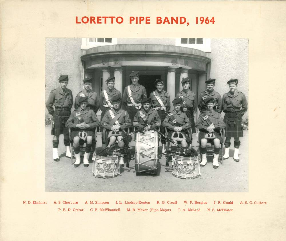 Pipe Band 1964