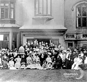 Canon Wilson's Jubilee celebration, Hall Place