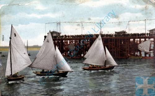 Boating at the Pier Head, Southport