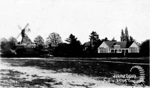 The windmill and golf club, Wimbledon Common