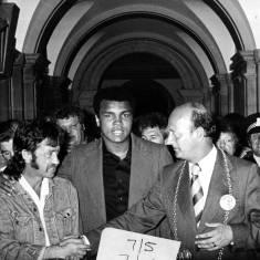 Civic event for Muhammad Ali