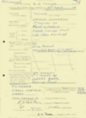 RMC Form 18A Personal Detail Sheets Aug 1935 Intake - page 203