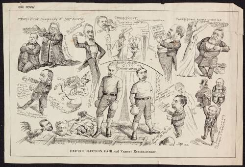 Exeter Election, c1892, Fair and Variety Entertainment