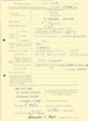 RMC Form 18A Personal Detail Sheets Aug 1935 Intake - page 106