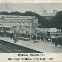 Railway disaster Waterloo Station