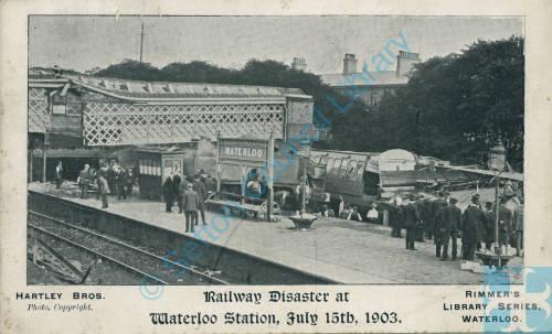 Railway disaster Waterloo Station