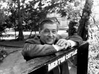 E.J. Adsett, at Merton Cottage
