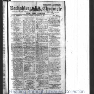 Berkshire Chronicle Reading 09-1917