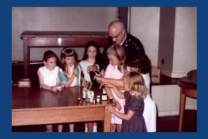 School visit to the Wimbledon branch of the St. John's Ambulance Brigade
