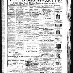 Ross Gazette - 1888