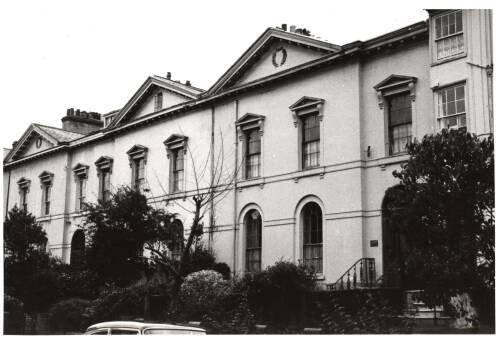 Salutary Mount, Heavitree Road, c1960 Exeter