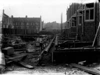 Construction of a house in the Wimbledon area
