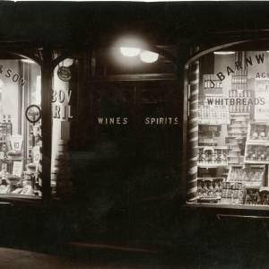 RGE037 - J.Barnwill and Son, agents for Whitbread's Ale and Stout, perhaps Broad Street Ross.jpg