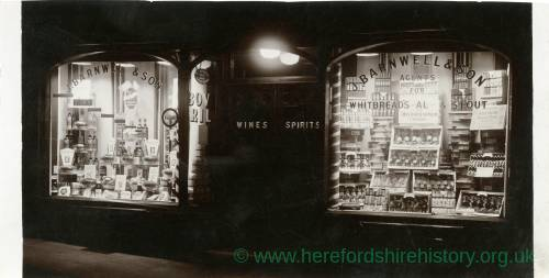 J.Barnwill and Son, agents for Whitbread's Ale and Stout, Ross-on-Wye