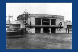South Wimbledon Underground Station.