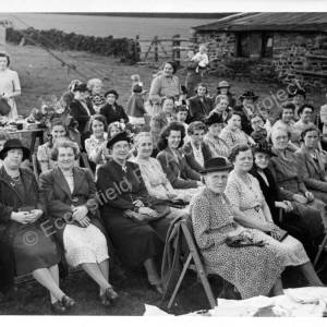 Grenoside Garden Party at Topside c1960