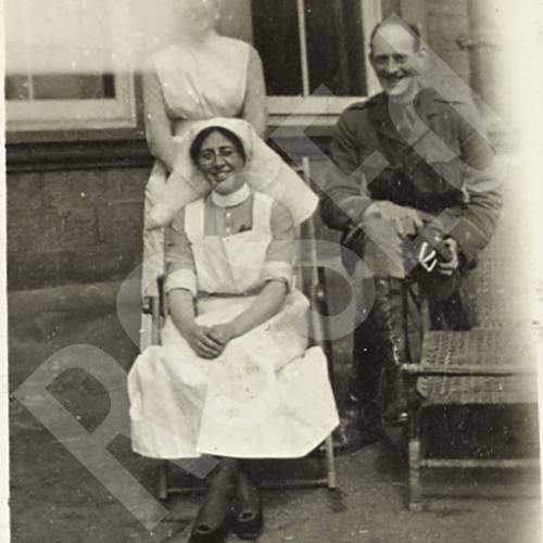 Patient Dinwiddie, Sister Nicholson and E.M.W.