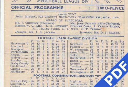19500121 Huddersfield Home