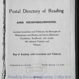 Smith's Directory of Reading 1915