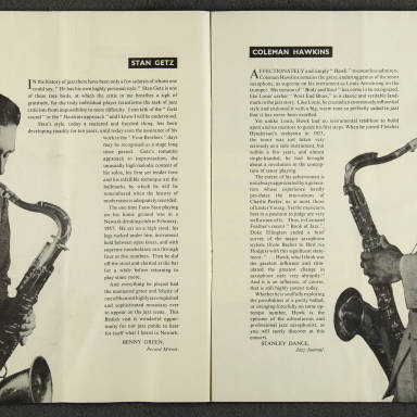 Norman Granz' Jazz at the Philharmonic First British Tour 1958 006