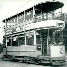 Tram 40 at Pier Head