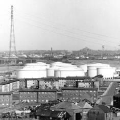 Jarrow - view across to South Shields
