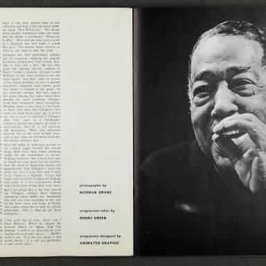 Ella Fitzgerald and Duke Ellington Orchestra – February  1967 007