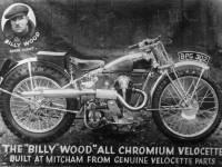 Billy Wood All Chromium Velocette