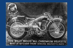 Billy Wood All Chromium Velocette