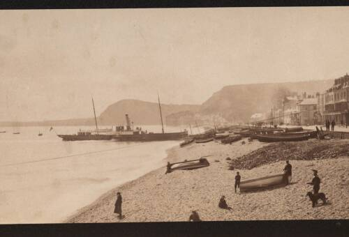 Sidmouth seafront, c1900, Sidmouth