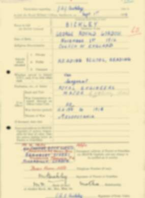 RMC Form 18A Personal Detail Sheets Feb & Sept 1933 Intake - page 161