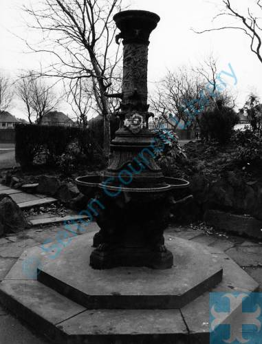 Drinking Fountain, Derby Park, Bootle, 1982