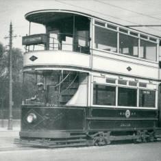 Tram Car No 20 at Pier Head
