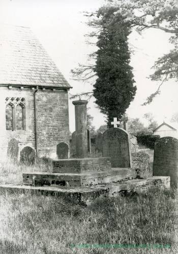 Ballingham church, cross, 1928