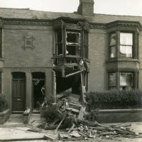 Bootle,Clare Road, bomb damage, Blitz