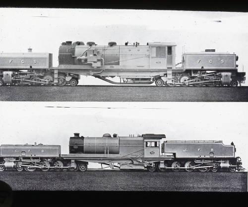 Benguela Railway (CFB) and Ferrocarriles del Sur del Perú (FCS)