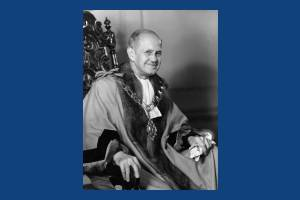 Alderman J R Beaumont, Mayor 1941-42